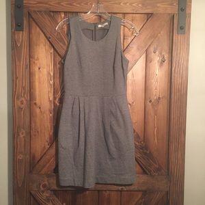 Madewell Verse Dress Gray